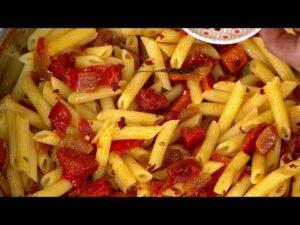 Ximena en Casa - Pasta en Salsa de Verduras Asadas