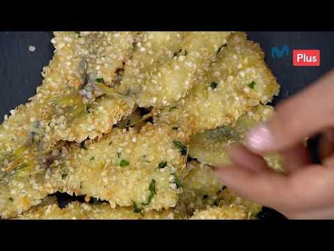 Ximena en casa - Pejerrey crocante con salsa al olivo