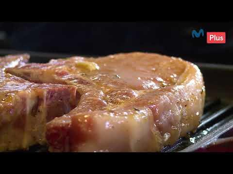 Cocina en un Toque - Chuleta de cerdo con puré e higos