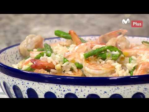 Ximena en casa - Risotto de langostino y conchas