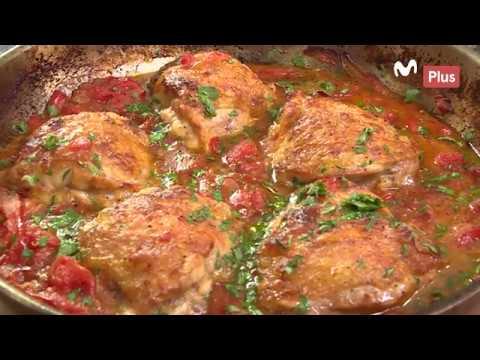 Cocina en un Toque - Pollo a la cazadora