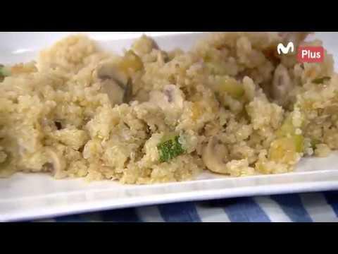 Ximena en casa - Quinua con filete de pescado