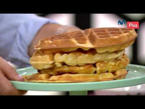 Ximena en casa - Waffles con plátanos caramelizados