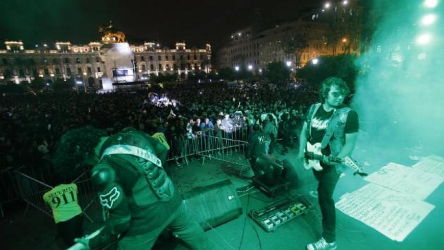 Lanzan convocatoria de bandas de rock para concierto en la Plaza San Martín