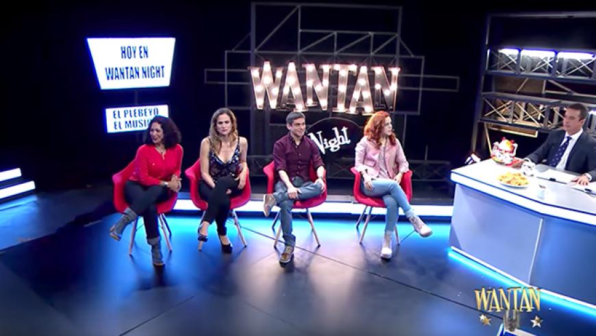 Lo mejor de Wantan Night con el elenco de la obra musical 'El plebeyo'
