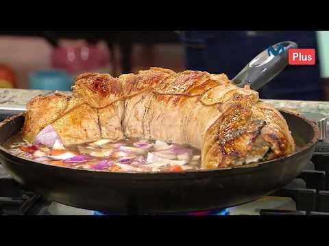 Ximena en Casa - Receta Lomo de Cerdo Enrrollado