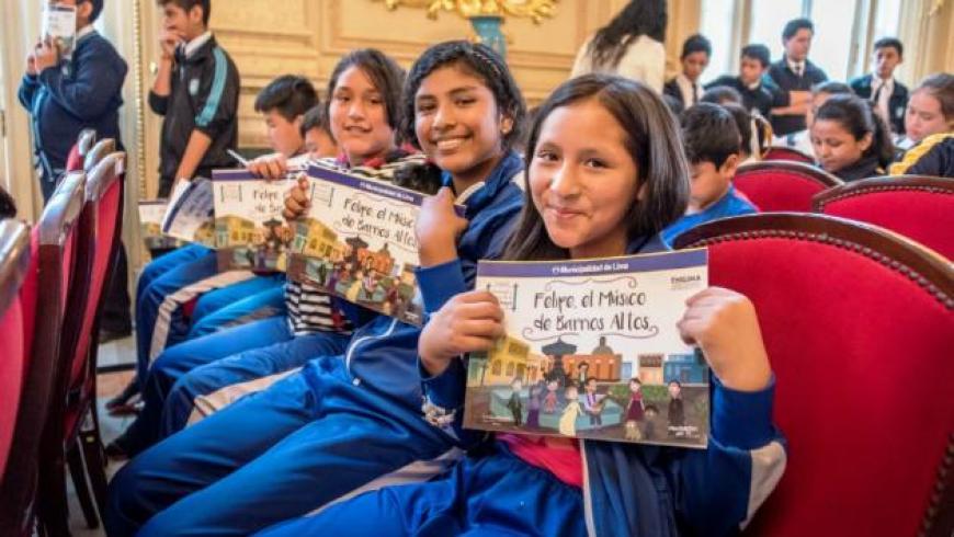 Publican colección de cuentos infantiles sobre personajes y barrios de Lima Antigua