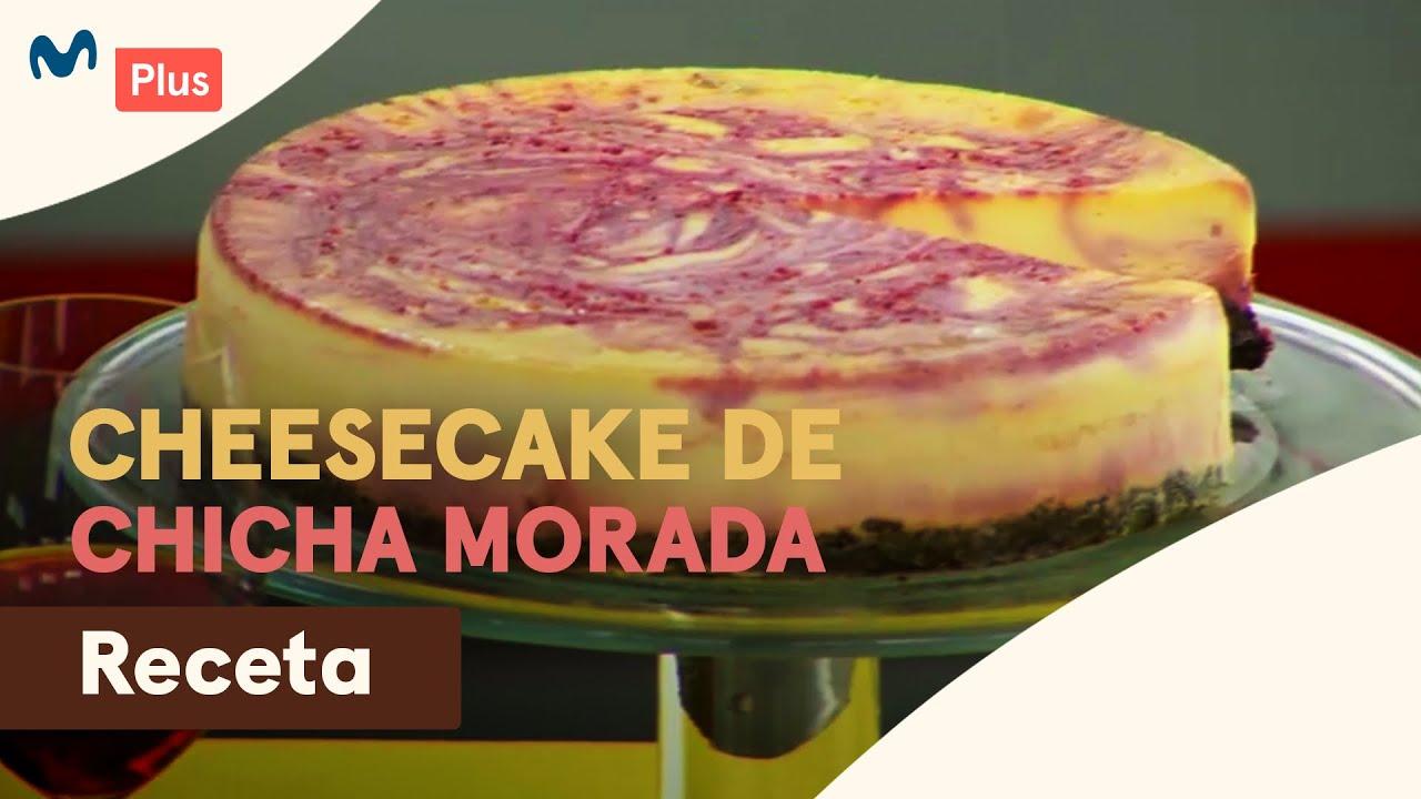 cheesecake chicha morada