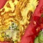 omelette de verduras