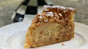 Torta Flan de manzana