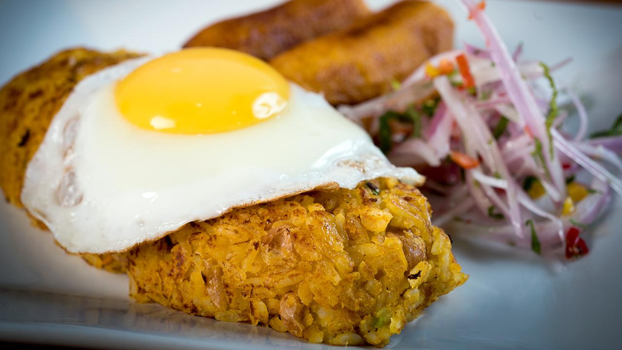 Prepara un delicioso Tacu Tacu a lo pobre en 05 pasos! | Movistar Plus